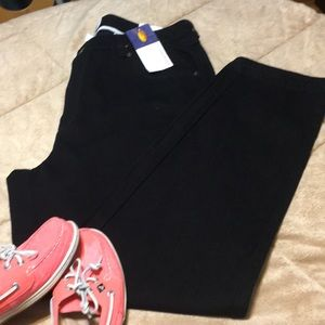 Talbots woman Relaxed Fit Black Jeans